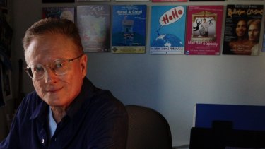 Kim Carpenter, pictured in his Pyrmont studio, is winding up his company after 30 years.