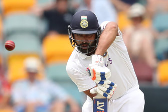 Rohit Sharma was criticised for his dismissal to Nathan Lyon.