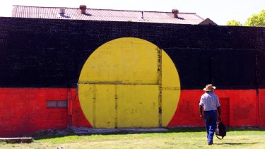 The Block in 2002. The neighbourhood has deep connections to Indigenous culture.