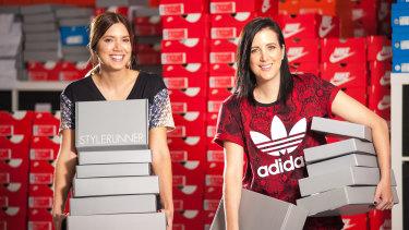 Stylerunner founders sisters Julie and Sali Stevanja.