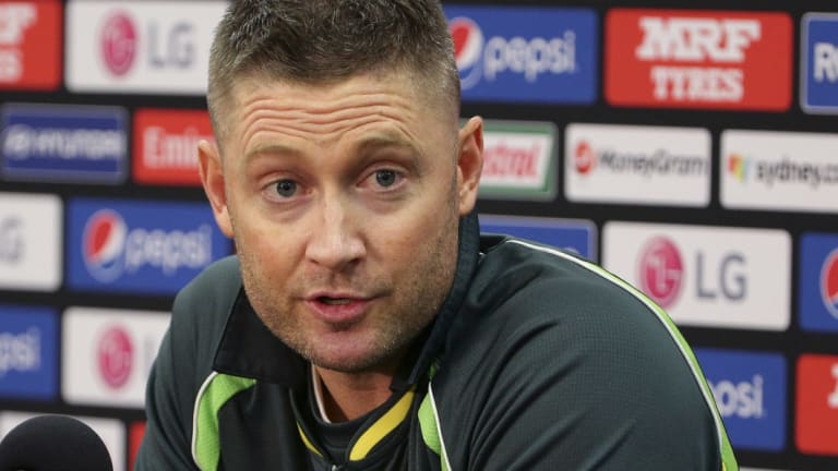 Michael Clarke didn;t time his entry into the cryptocurrency world well.
