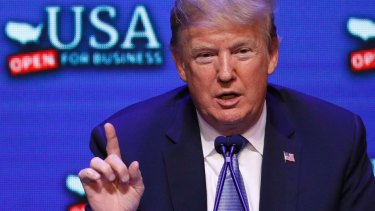 President Donald Trump has described illegal migrants as 'invaders'.