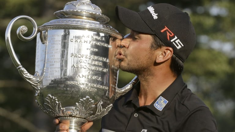 Sweet success: Jason Day doesn't want his 2015 PGA Championship to be his only major title.