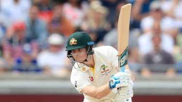 Steve Smith proved almost impenetrable at Edgbaston.