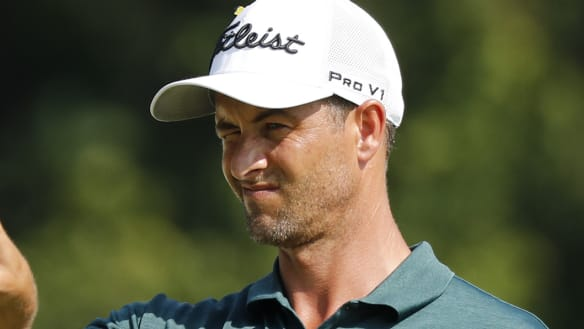 Hot putting inspires Scott at PGA playoffs