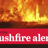Bullsbrook bushfire downgraded to Watch and Act after favourable fire conditions