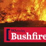 Lives, homes under threat as unpredictable blaze tears through bushland near Collie