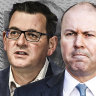 Josh Frydenberg and Daniel Andrews butt heads as infrastructure budget looms