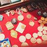 Nazi memorabilia for sale at Melbourne trash and treasure market