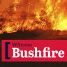 Strong easterly gusts fan flames of dangerous blazes in Kwinana and Gosnells