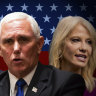 US election 2020 as it happened: Mike Pence, Kellyanne Conway spoke at RNC on day three