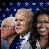 As it happened: Republicans endorse Joe Biden as DNC opens with Bernie Sanders, Michelle Obama