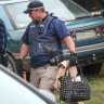 Two Victorian men charged with making a bomb after raid on property