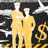Turbulent times: who profits when you fly?