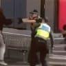 Rookie police officer shot Bourke Street attacker