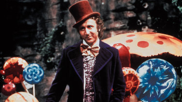 Gene Wilder's Willy Wonka emphasised the character's strange unreliability.