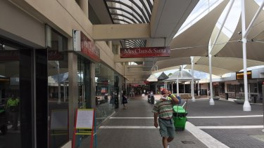 """""""Buildings are empty, which means we're not receiving rent,"""" Ipswich administrator Greg Chemello says of  Ipswich Mall."""