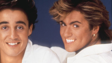 Andrew Ridgeley and George Michael in their Wham! days.