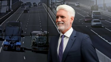 Transurban chief executive Scott Charlton says it is difficult to put a date on the opening of NorthConnex next year.