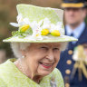 Queen Elizabeth makes surprise appearance at RAAF centenary