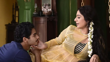 Maan Kapoor (Ishaan Khatter) and Saeeda Bai (Tabu) in A Suitable Boy, which is set in India during a period of monumental changes.