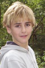 Daniel as a child.