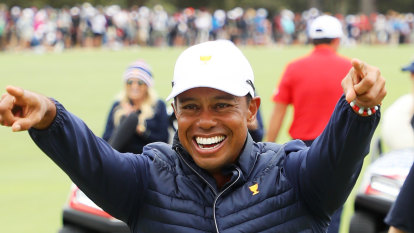 As it happened: Tiger Woods leads US to Presidents Cup win
