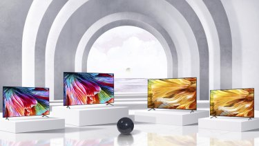 MiniLED technology, which LG calls QNED, allows LCD TVS to achieve better contrast.