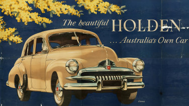 Time piece ... the FJ Holden.