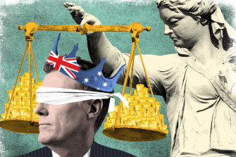 Part of Christian Porter's legal fees for his defamation action were paid by a blind trust.