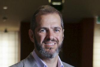 Daniel Grollo blames the NSW government for Grocon's collapse.