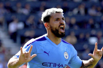 Sergio Aguero was the hero for Manchester City with two goals.