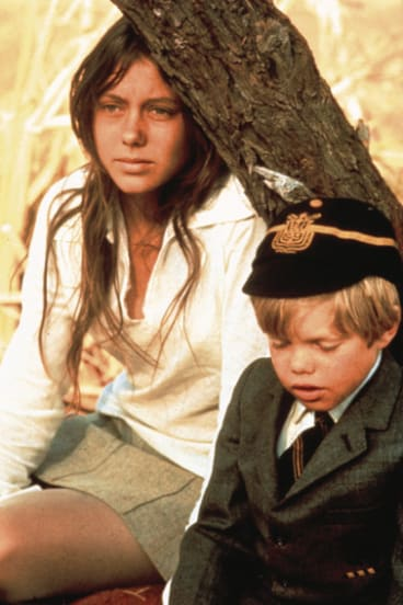 Jenny Agutter and Lucien John Roeg in the 1971 movie Walkabout, which was based Donald Payne's 1959 novel.