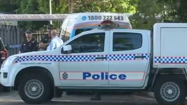 Police are investigating what happened between the discovery and when the boy was supposed have been delivered to a nearby day care centre.