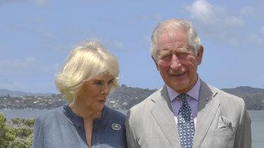 Camilla, Duchess of Cornwall and Prince Charles, Prince of Wales visit Kerikeri Primary School in Waitangi, New Zealand.