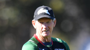 Wayne Bennett hasn't spoken to Ricky Stuart for some time.