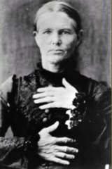 Ellen Thomson, the only woman hanged in a Queensland prison.