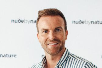 Celebrity makeup artist and presenter, Michael Brown.