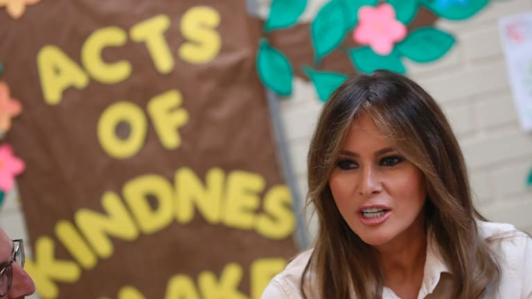 The office of first lady Melania Trump was reportedly unhappy with Mira Ricardel.