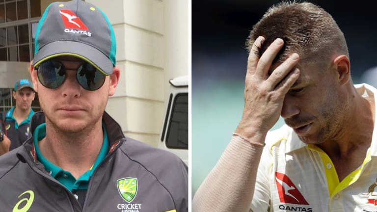Smith and Warner have been stood down from their respective leadership roles.