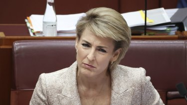 Michaelia Cash is acting Industrial Relations Minister in Christian Porter's absence.