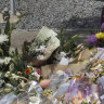 Police search for evidence near Celeste Manno's home as tributes flow