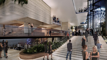 Concept design images for the new South Bank theatre have been released.