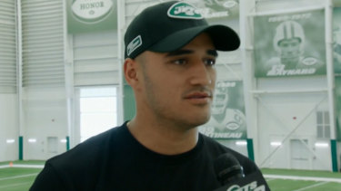 Homeward-bound?: Valentine Holmes' manager says the time is coming when he will have to decide where his future lies.