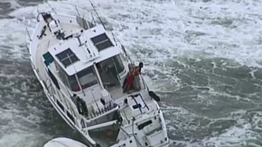 Police were working to determine who was on board and how to track them down.