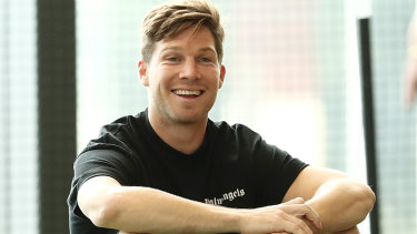 Toby Greene has plenty to smile about now that he can play in an AFL grand final.