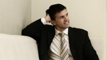 Geocon finance boss Sean Unwin pictured in his former role at Colliers International Australia.