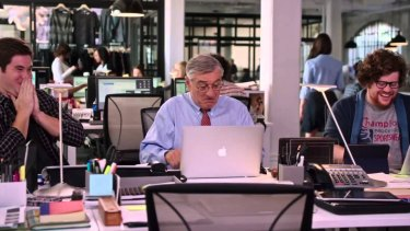 Robert De Niro in The Intern.