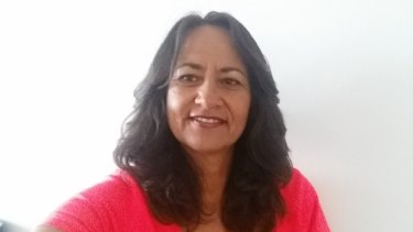 Monique Pourewa accessed the Benevolent Society's services to find her birth father.