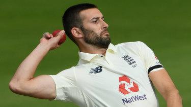 England paceman Mark Wood.